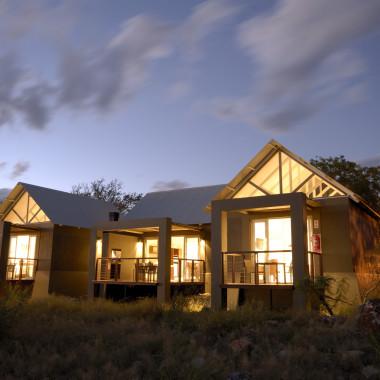 Luxury accommodation in Namibia Etosha